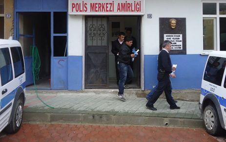 Çaykara Polisinden kablo hırsızlarına suçüstü