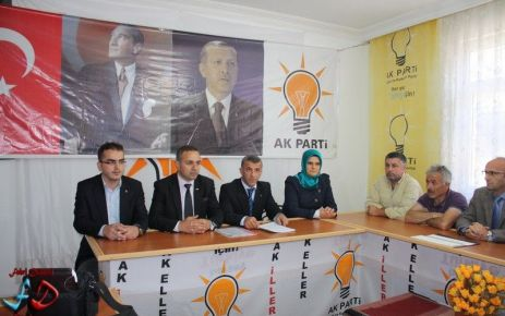 Çaykara'da Ak Parti'nin ilk aday adayı Hanefi Tok