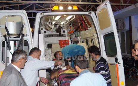 Çaykara'da araç uçuruma yuvarlandı; 1 ölü, 4 yaralı