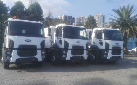 Çevre Bakanlığı ve TBB'den Büyükşehire 6 yeni araç