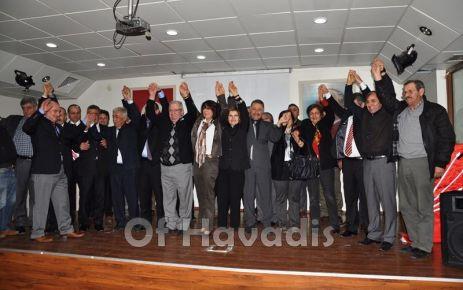 CHP, Of Belediye Başkan Adayını tanıttı