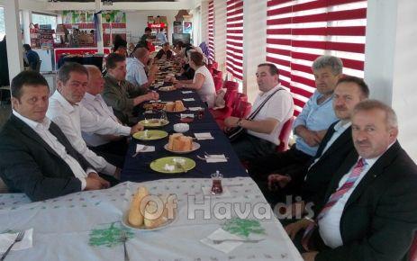 Cumder Zonguldak'daki hemşehrileri ile kahvaltıda buluştu