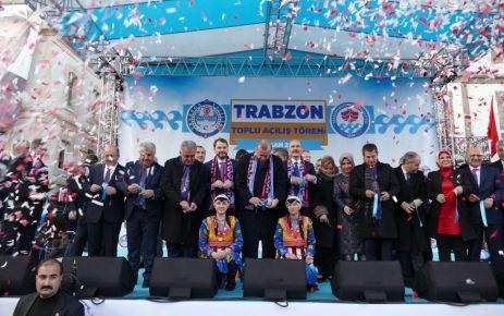 Cumhurbaşkanı Erdoğan 57 tesisin açılışını yaptı