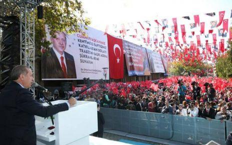 Cumhurbaşkanı Erdoğan, 61.gününde Trabzon'da