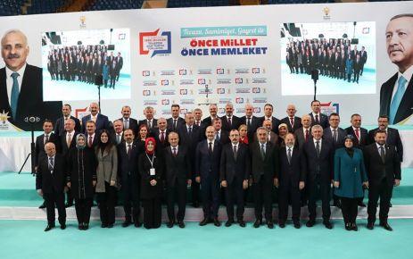 Cumhurbaşkanı Erdoğan Trabzon'un başkan adaylarını açıkladı