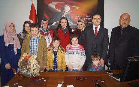 Dayıoğlu Rehabilitasyon'dan Kaymakam Fırat'a ziyaret