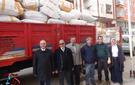Dernekpazarı'ndan Halep'e yardım