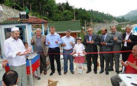 Dumlusu Köyü Dinlenme Tesisleri açıldı
