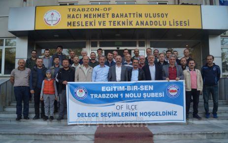 Eğitim Bir Sen'de görev Yaşar Osmanoğlu'nun