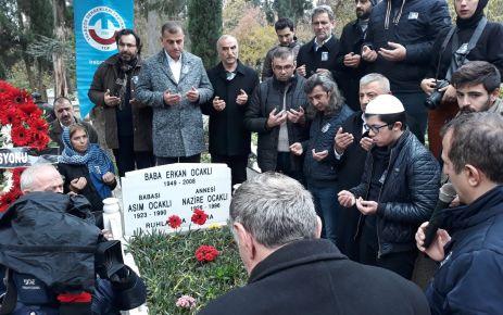 Erkan Ocaklı ölümünün 10.yılında kabri başında anıldı
