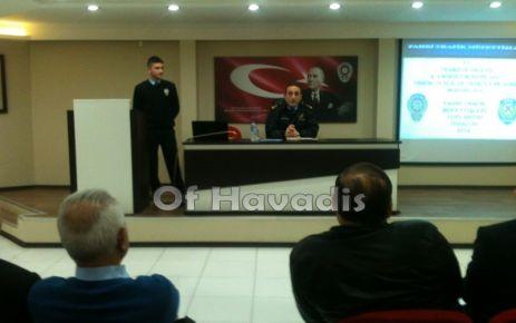 Fahri Trafik Müfettişlerine Brifing