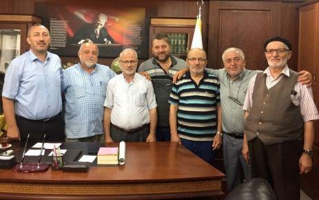 Fındıkoba Kurs yöneticilerinden Müftü İspiroğlu'na ziyaret