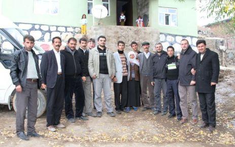 Gül Derneği'nden depremzedelere yardım
