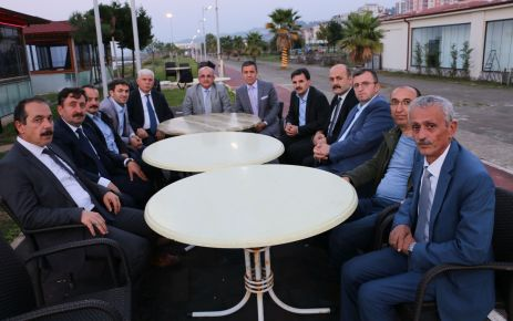 Hacıbektaşoğlu Trabzon'a veda etti