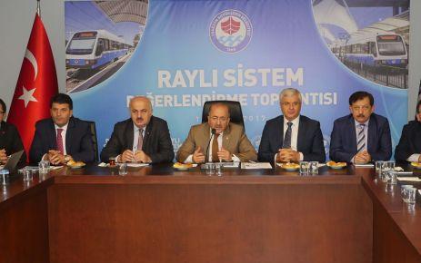 Hafif Raylı Sistem için teknik toplantı