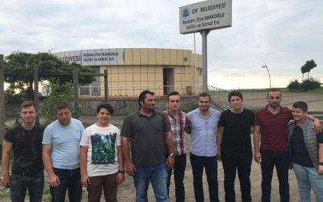 Hastikozlu gençlerden Ramoğlu Kültür Merkezi'ne ziyaret