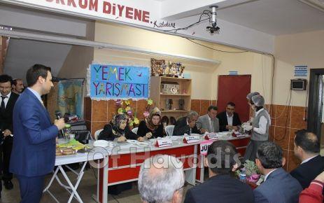 Hayrat Pınarca'da Yöresel Yemekler yarıştı