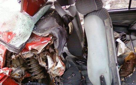 İkizdere yolunda kaza; 2 ölü, 6 yaralı