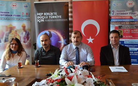İŞKUR'un İstihdam Fuarı 7-8 Mayıs'ta Trabzon'da
