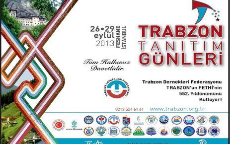 İstanbul Feshane'de Trabzon Günleri başlıyor