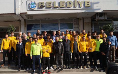 İstanbulspor'dan Başkan Sarıalioğlu'na ziyaret