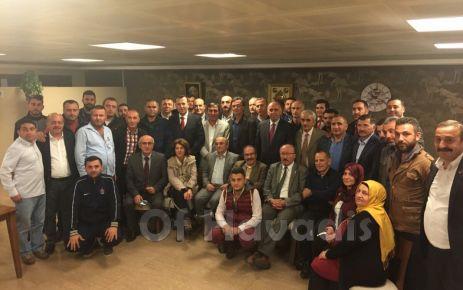 İzmir'deki Trabzonlular Derneğine Oflu başkan