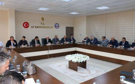 Kabahasanoğlu okul ve kurum müdürleriyle buluştu