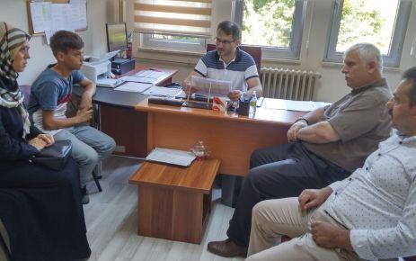 Kabahasanoğlu tercih komisyonlarını ziyaret etti
