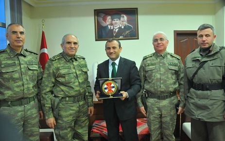 Kalyoncu Paşa'dan Kaymakam Sonel'e ziyaret