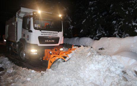 Kar mücadelesi için Büyükşehirden ilçelere 1.3 milyon TL