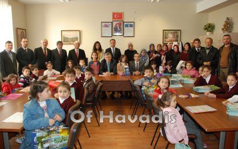 Kaymakam Arslan ve Başkan Sarıalioğlu karne verdi