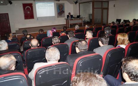 Kaymakam Arslan'dan kamu çalışanlarına Etik Eğitimi