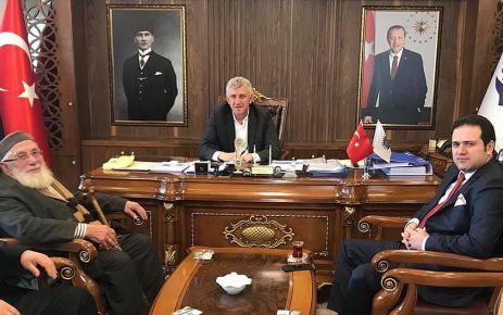 Kaymakam Fırat'tan Başkan Sarıalioğlu'na hayırlı olsun ziyareti