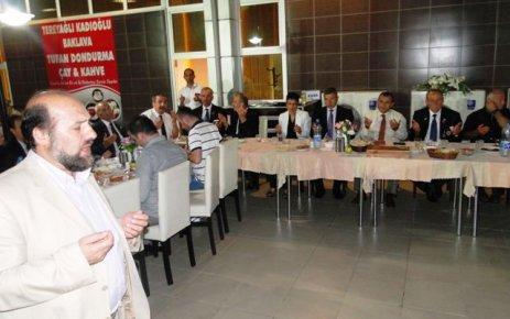 Kaymakam Sonel'den Gazilere Akşam yemeği