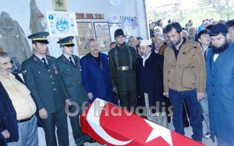 Kıbrıs Gazisi Ayazoğlu son yolculuğuna uğurlandı