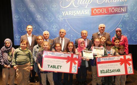 Kitap Okuma Yarışmasının ödülleri dağıtıldı