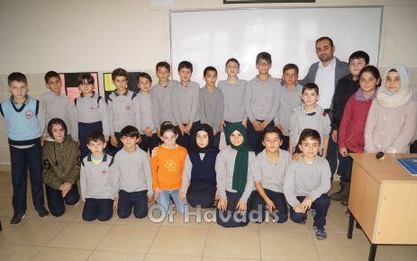 Kıyıcık İlk/Ortaokulu Baltacı Vadisine eğitim sunuyor