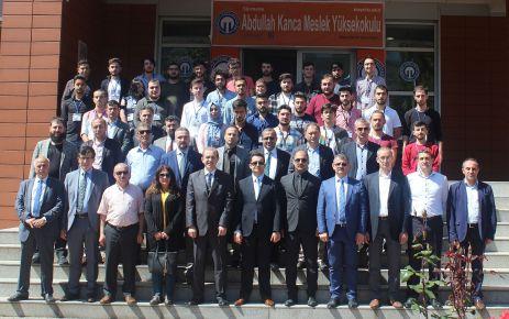 KTÜ Abdullah Kanca Meslek Yüksekokulunda projeler yarıştı