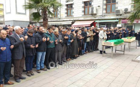Mehmet Ali Aktürk ve Abdullah Öztürk son yolculuğuna uğurlandı