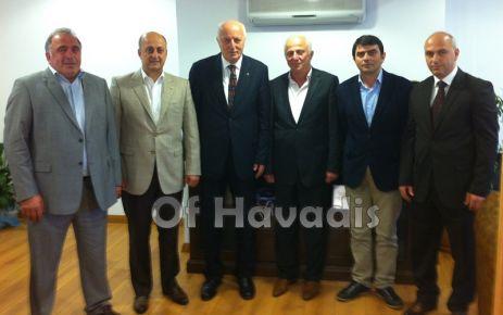 Mete ve Türkmen'den OF TSO'ya ziyaret