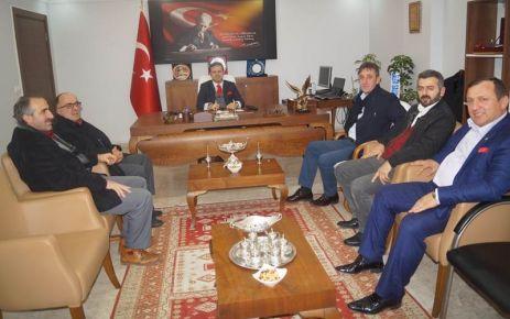 MHP Of yönetiminden Kaymakam Fırat'a ziyaret