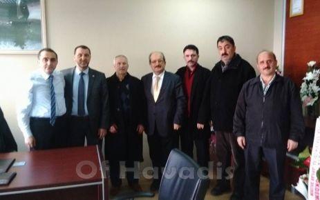 MHP'den Başhekim Uysal'a ziyaret
