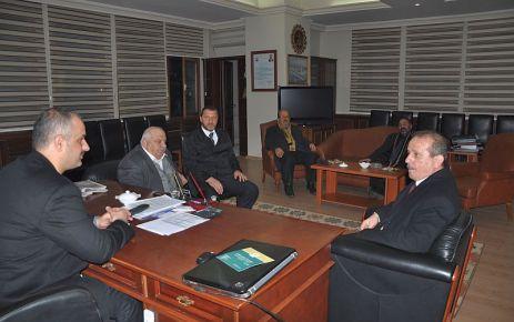 MHP'nin Başkan adayı Çakıroğlu'ndan Başkan Saral'a ziyaret
