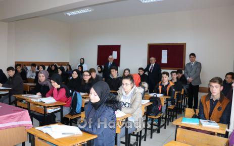 Müdür Aktaş Of Anadolu Lisesi'nde