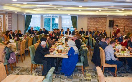 Müdür Alper Şehit aileleri ve Gazilerle buluştu