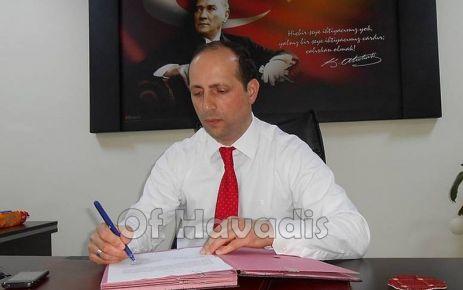 Müdür Aydın Çayeli'ne atandı
