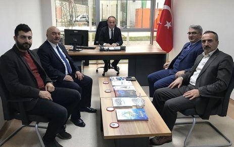 Müdür Harbutoğlu'na hayırlı olsun ziyaret