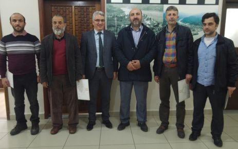 Muhtar Yavuz ve Azalarından Yaşar ve Kabahasanoğlu'na ziyaret