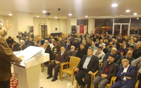Of AGD'den Merhum Erbakan'ı anma programı