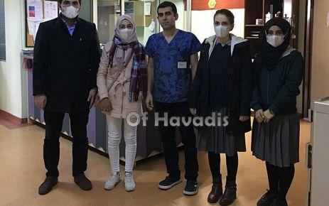 Of Anadolu Lisesi öğrencilerinden Lösemili hastalara yardım